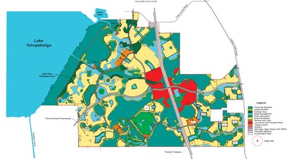 Green Island Ranch on the south shore of Lake Toho is on the market for $145 million. The 6,000-acre ranch would include a future interchange with the Florida Turnpike and has entitlements for 13,000 homes.