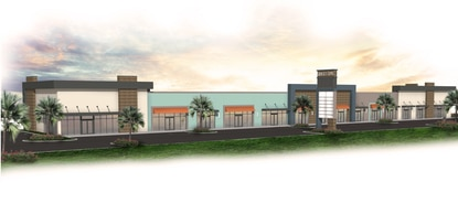 Lally Development will break ground this month on the Shoppes at Sunset Cove shopping center, right next door to the new W192 Aldi Food Market in Clermont.