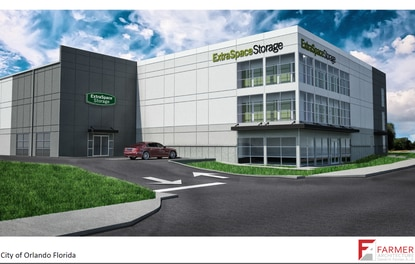 Local developer tries to outpace competitors w/self-storage plan for Turkey Lake Road