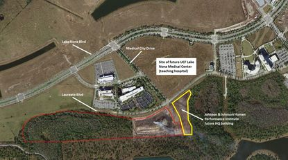 Pharmaceutical firm seeks city incentives to build $149M+ plant in Lake Nona