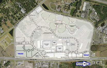 Osceola County planning for hotels and parking garages at Heritage Park
