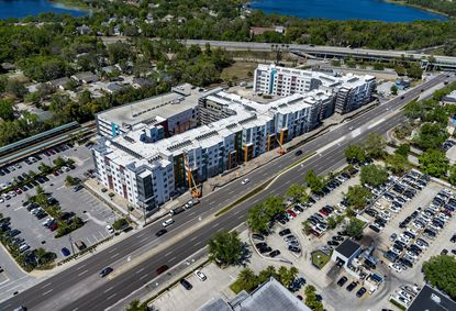 Epoch Residential is finishing up its second TOD project at the Maitland SunRail station. The developer completed and sold Station House at the Lake Mary station in 2017.