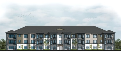 Atlanta-based Wood Partners has filed construction plans for a 342-unit apartment complex on the site of the former Sanford Orlando Kennel Club dog track in Longwood.