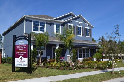 Model home at M/I Homes' Lukas Landing community in Oviedo, near a new development it is planning to break ground on later this year.