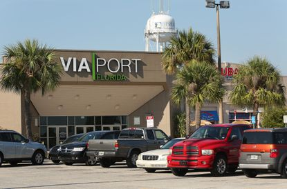 The VIA Port Florida mall in Leesburg.