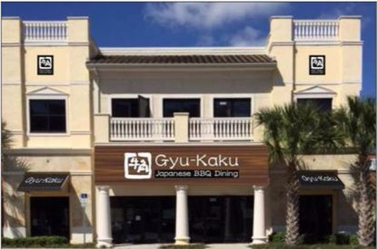 The Gyu-Kaku Japanese BBQ restaurant in the Dr. Phillips neighborhood in southwest Orange County. The restaurant has signed a lease for its second Central Florida restaurant.
