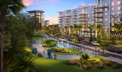 The developer resubmitted plans for the RoseArts District in Orlando's Rosemont neighborhood, but only reduced the density by 350 units.