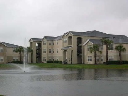 View of the Hidden Creek Villas, an Orlando affordable apartments complex bought last week by an affiliate of Starwood Property Trust.