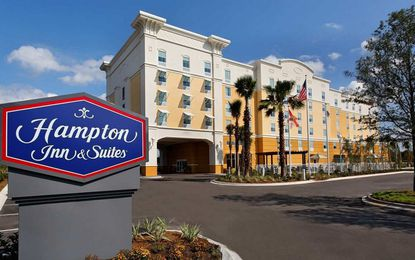A Hampton Inn & Suites may be in line for the third of a potential seven hotel parcels at Disney's Flamingo Crossings property.