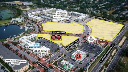 Michael Collard Properties has purchased the remaining undeveloped 8.33 acres at Oviedo on the Park for an undisclosed price.