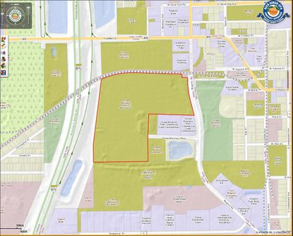 A developer appears to have shelved a plan to put a major distribution logistics center on this parcel in Ocoee near the 429 expressway.