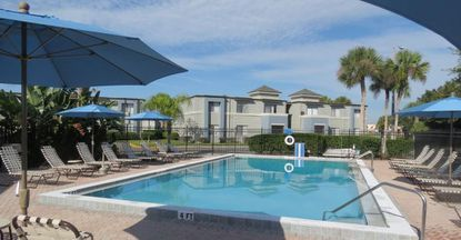 A view of the pool at Parkview Crossing Apartments in Fern Creek, in Seminole County.