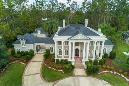 View of the home recently bought by Wayne Harrod in Longwood's Alaqua Lakes community.