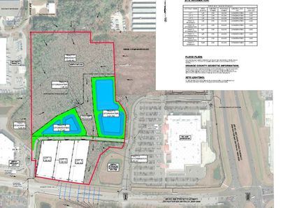 A Development Plan for three general commercial lots on the northwest corner of Princeton Street and John Young Parkway, directly west of a Walmart Supercenter.