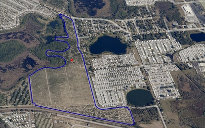Cassidy Homes preps for 400+ home subdivision in Haines City