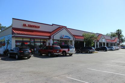 The owners of a Kissimmee Domino's franchise bought their retail space, along with the rest of the shopping center on E Osceola Parkway, for $1.55 million.