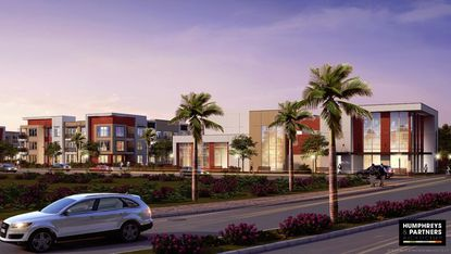 There is a cubist element to the apartments Alliance Residential is building in Altamonte Springs,